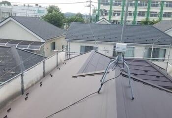 船橋市の棟板金交換とカバー工法による屋根リフォームが完成です