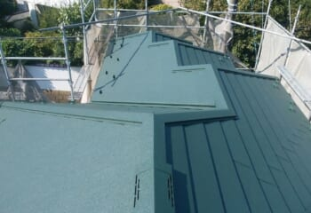 埼玉県川口市でおこなった屋根リフォーム 工事完了