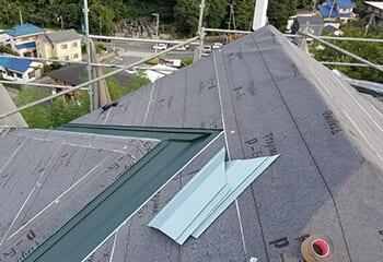 屋根の防水について