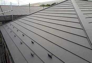東京都葛飾区の屋根リフォーム 完了