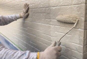 外壁の塗装