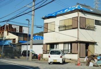 台風15号で被災した瓦屋根