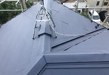 千葉県野田市でおこなった屋根と外壁の同時リフォーム 完了