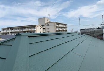 奈良県桜井市の瓦屋根葺き替えリフォームが完成です!