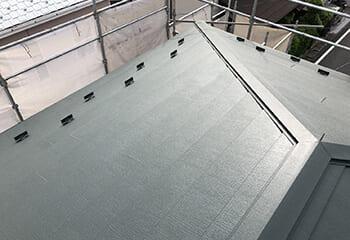 三鷹市の屋根リフォーム 完了