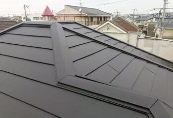 奈良県大和郡山市の屋根カバー工法リフォームが完成です!