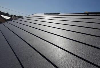 神戸市北区のカバー工法による屋根リフォーム完成です