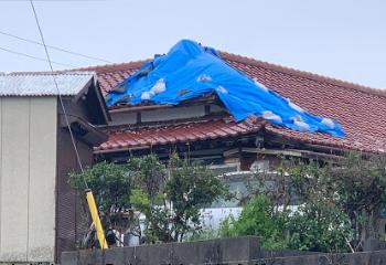 2019年台風15号による瓦屋根の被災