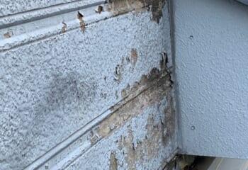 壁内結露による外壁の劣化