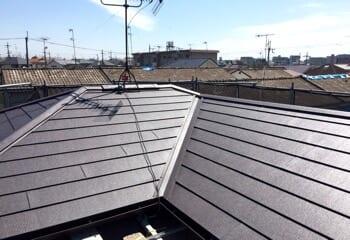 大阪府吹田市の屋根葺き替えリフォームが完成です!