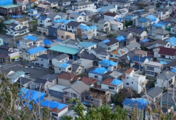2019年台風15号による屋根被災の様子