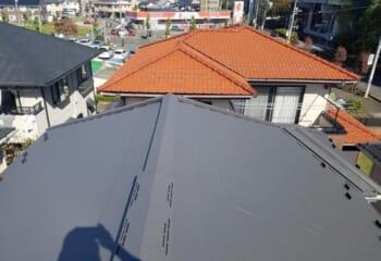千葉県習志野市の屋根リフォームが完成です