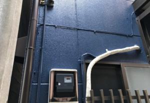 江東区の外壁塗装と屋根カバー工法のリフォームが完成