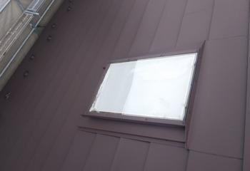 天窓周りの施工