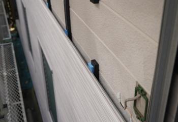 調整材で外壁の歪みを解消
