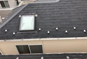 現地調査 天窓がある屋根