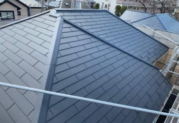 世田谷区の葺き替えによる屋根リフォームが完成