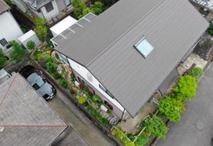 兵庫県三田市でおこなった屋根カバー工法が完成