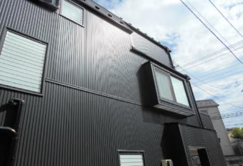 ガルバリウム鋼板の外壁サイディング