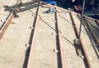 下地調整は屋根の工事品質に大きく関わります