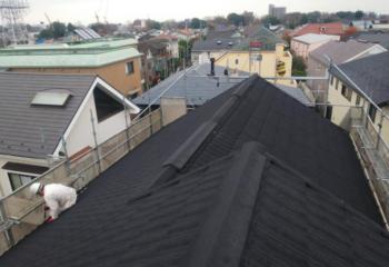 世田谷区のお客さま宅 屋根葺き替えリフォーム工事完成