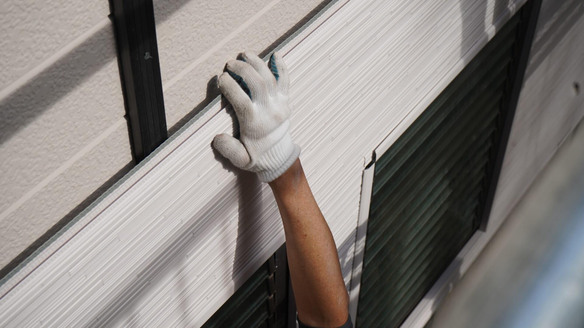 断熱材一体型の金属サイディングで外壁カバー工法