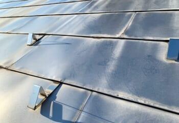 25年が経過したガルバリウム鋼板