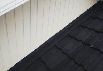 屋根と外壁取り合い部の雨仕舞処理