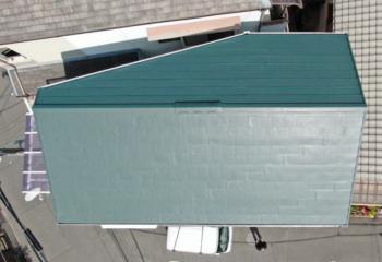屋根カバー工法と外壁塗装工事が完成