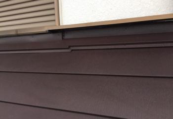 外壁と屋根の取り合い部の雨仕舞処理