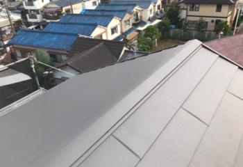 堺市西区の屋根葺き替え工事&外壁メンテナンスが完成