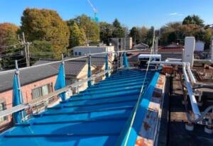 東京都練馬区でおこなった屋根葺き替えリフォーム工事が完成