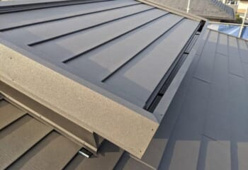 三鷹市でおこなったミサワホームの屋根の葺き替え工事が完成