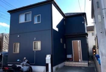 千葉県柏市でおこなった外壁カバー工法リフォームが完成
