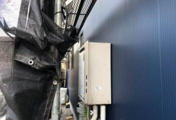 外壁回りの調整(4) ガス設備の脱着