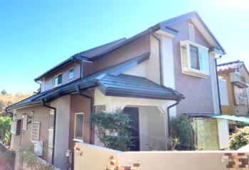 千葉市花見川区でおこなった、屋根と外壁のカバー工法リフォーム工事完成