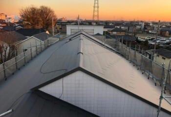 さいたま市南区の積水ハウスアパート屋根リフォームが完成