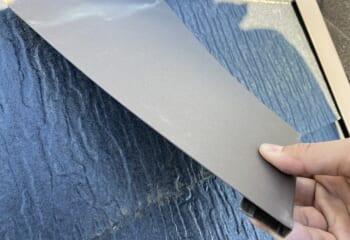 差し込み葺きの屋根材