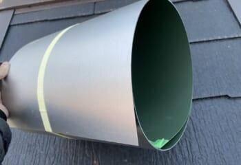 コイル状のガルバリウム鋼板