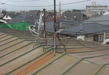 さいたま市 瓦棒屋根施工前
