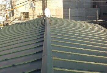 さいたま市 屋根リフォーム 瓦棒屋根 完成写真