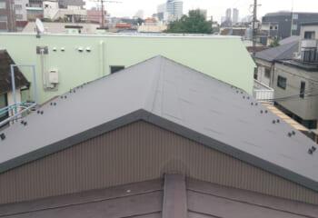 屋根の張替え 完成写真