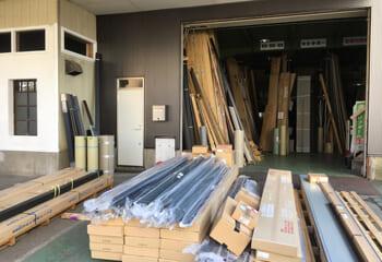テイガクの資材倉庫