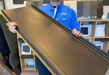 立平の鋼板