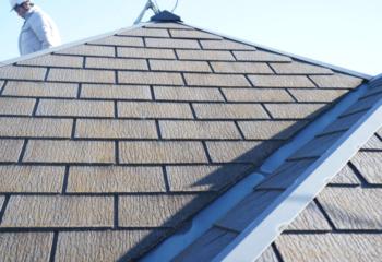 瓦屋根の施工写真