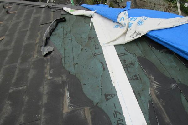 スレートは屋根下地が傷みやすい