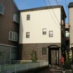 大阪市淀川区 金属サイディングと金属屋根でカバー工法
