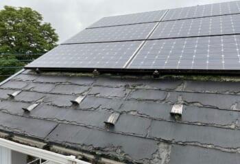 パミールに太陽光パネル設置