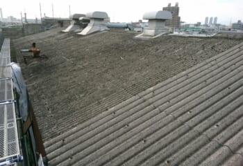 屋根のはじめの状態