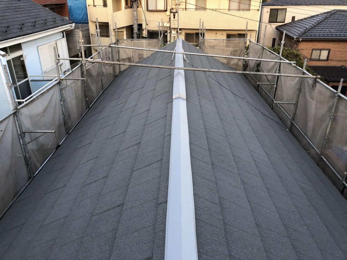 非同質役物の屋根